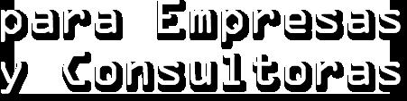 empresas y consultoras